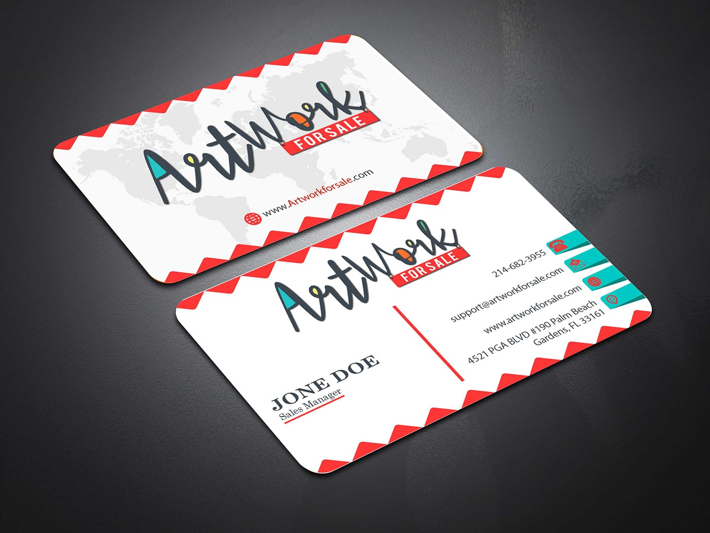 Minimal Business Card Free Mockup