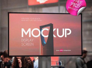 Display Screen Free Mockup