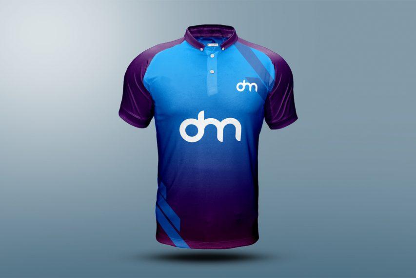 Football Sport Kit Free T-shirt Mockup