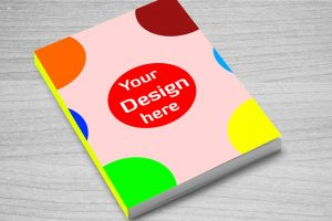 Free Book Cover Mock-up