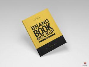 Free Brand Book Cover Mockup