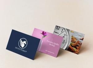 Free Branding Business Cards Mockup