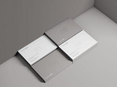 Modern Business Card Free Mockup