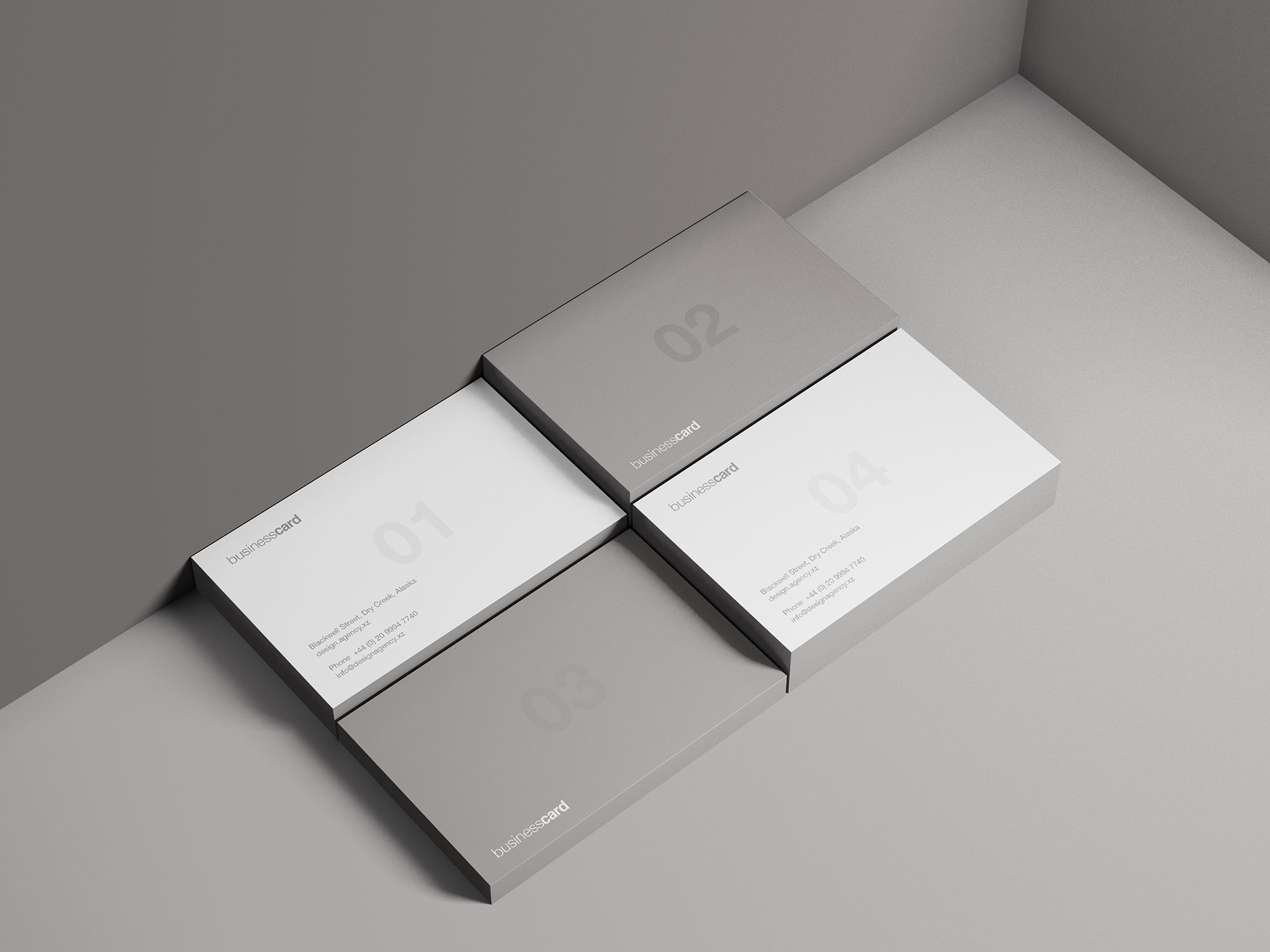Modern Business Card Free Mockup