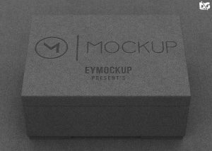 Free Clean Box Packaging Mockup