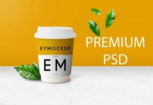 Free Coffee Cup New Mockup