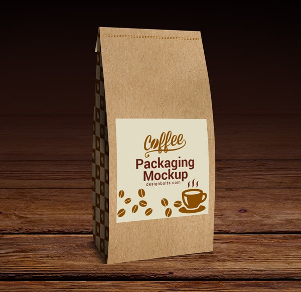 Free Coffe Packaging Mockup