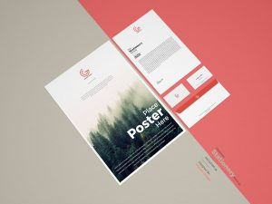 Corporate Stationery Free Mock-up
