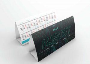 Free Desk Calendar Mock-up