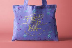 Tote Bag Fabric Free Mockup