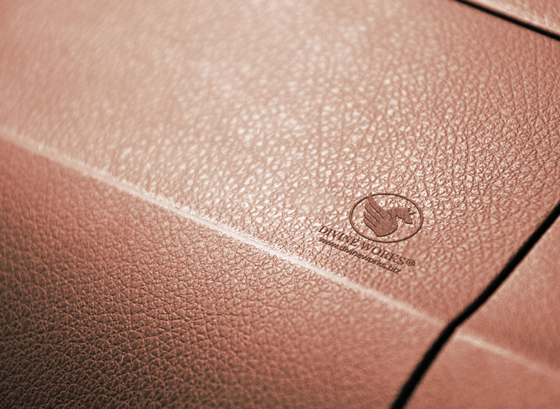 Leather Embossed Logo Free Mockup