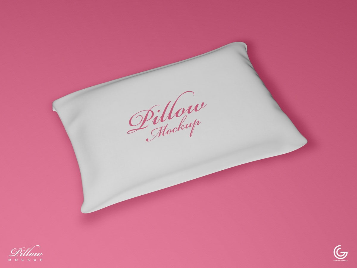 Free Pillow Mockup For Presentation