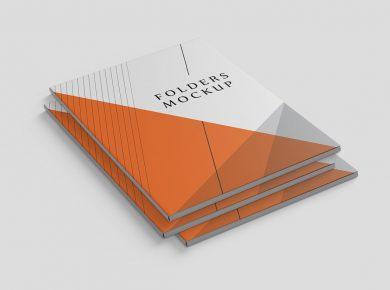 Paper Folder Free Mockups