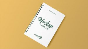 Free Spiral Notebook Free Mockup