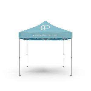 Free Square Tent Mockup