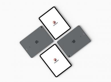 Top View iPad Pro Free Mockups