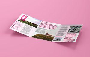 Free Tri-Fold A4 Brochure Mockup