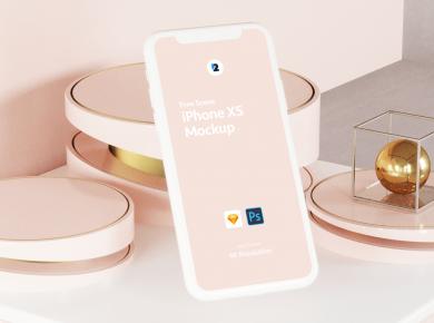 Free iPhone XS Scene Mock-ups