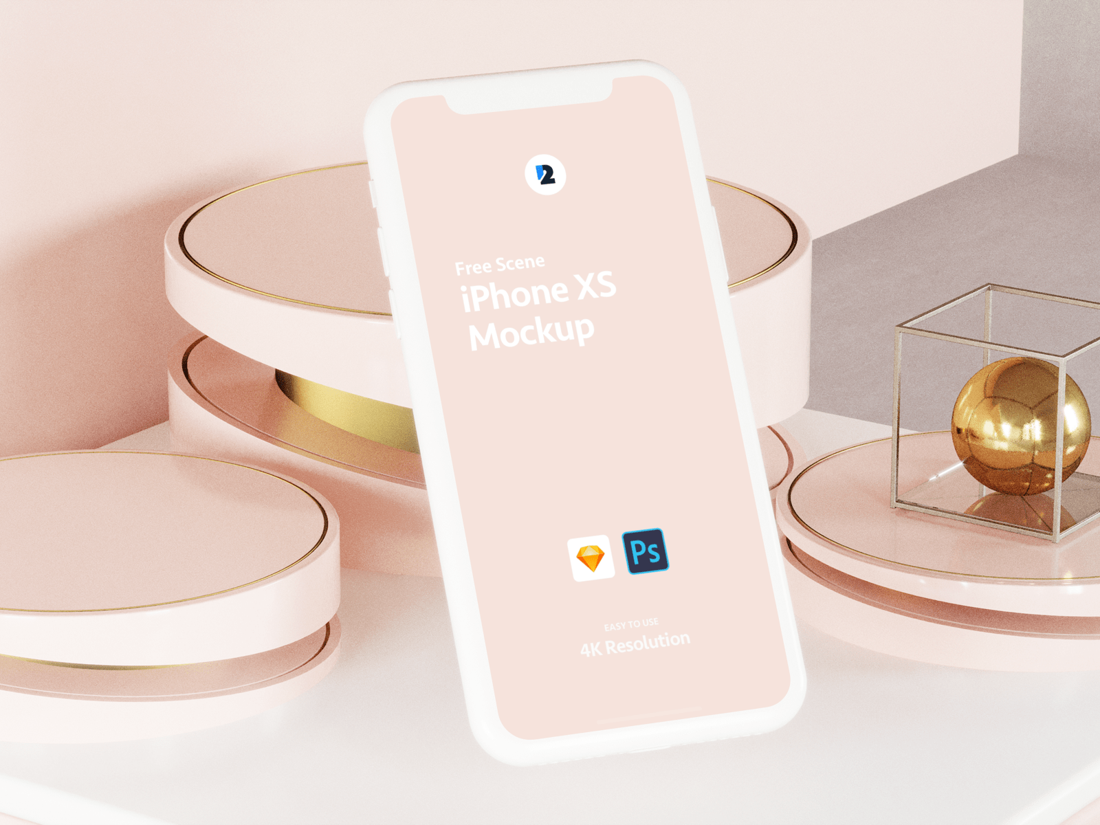 Free iPhone XS Scene Mock-ups