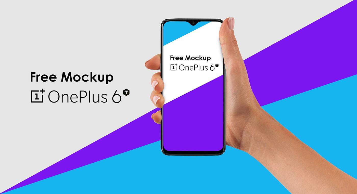 Oneplus 6T Free Mockup