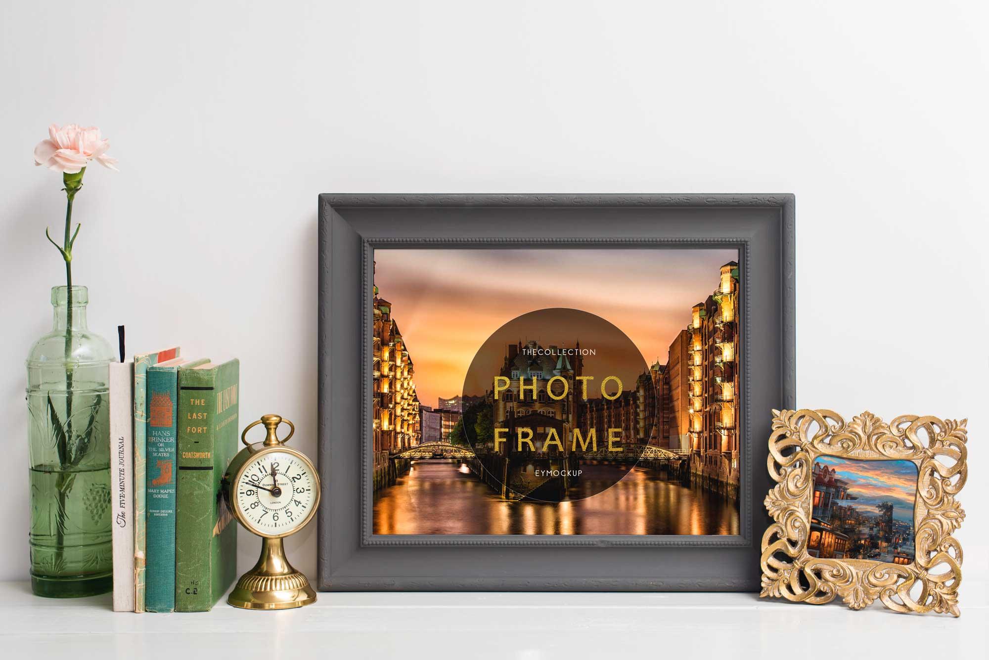 Photo Frames Free Mockup