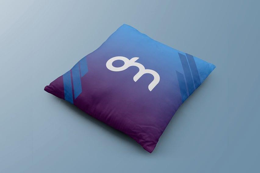 Square Pillow Free Mockup