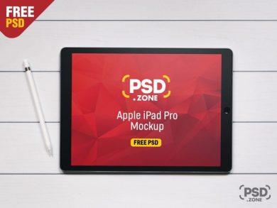 Apple iPad Pro Free Mockup