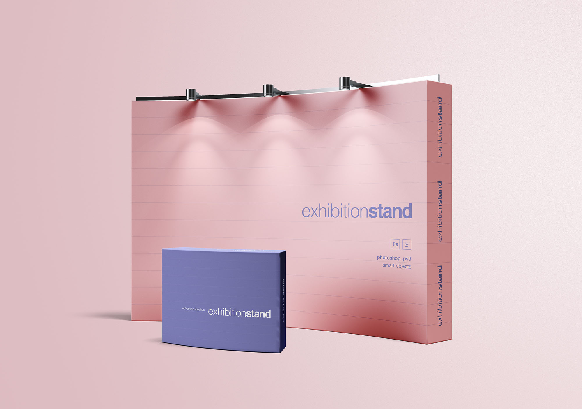 Simple Exhibition Stand Free Mockup