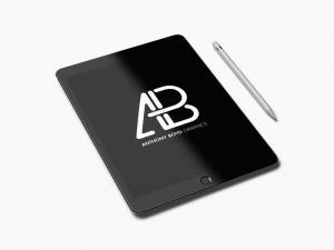 Realistic iPad Pro Free Mockup