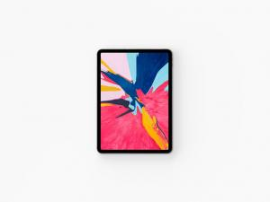Top View iPad Pro Free Mockup