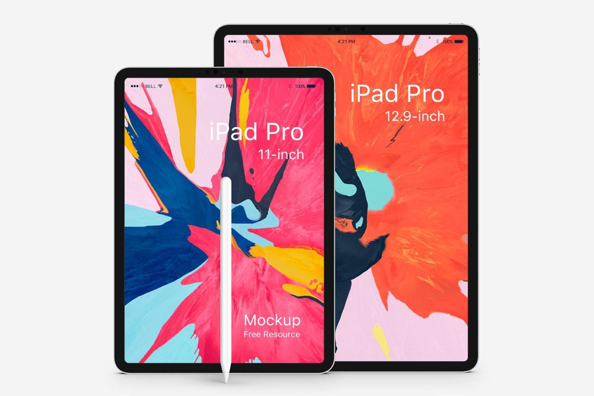 Free iPad Pro Mockups