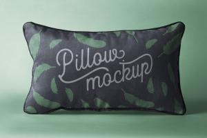 Free Rectangular Pillow Mockup