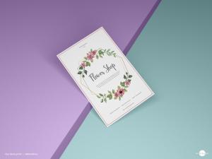 Free Brand Paper Flyer Mockup