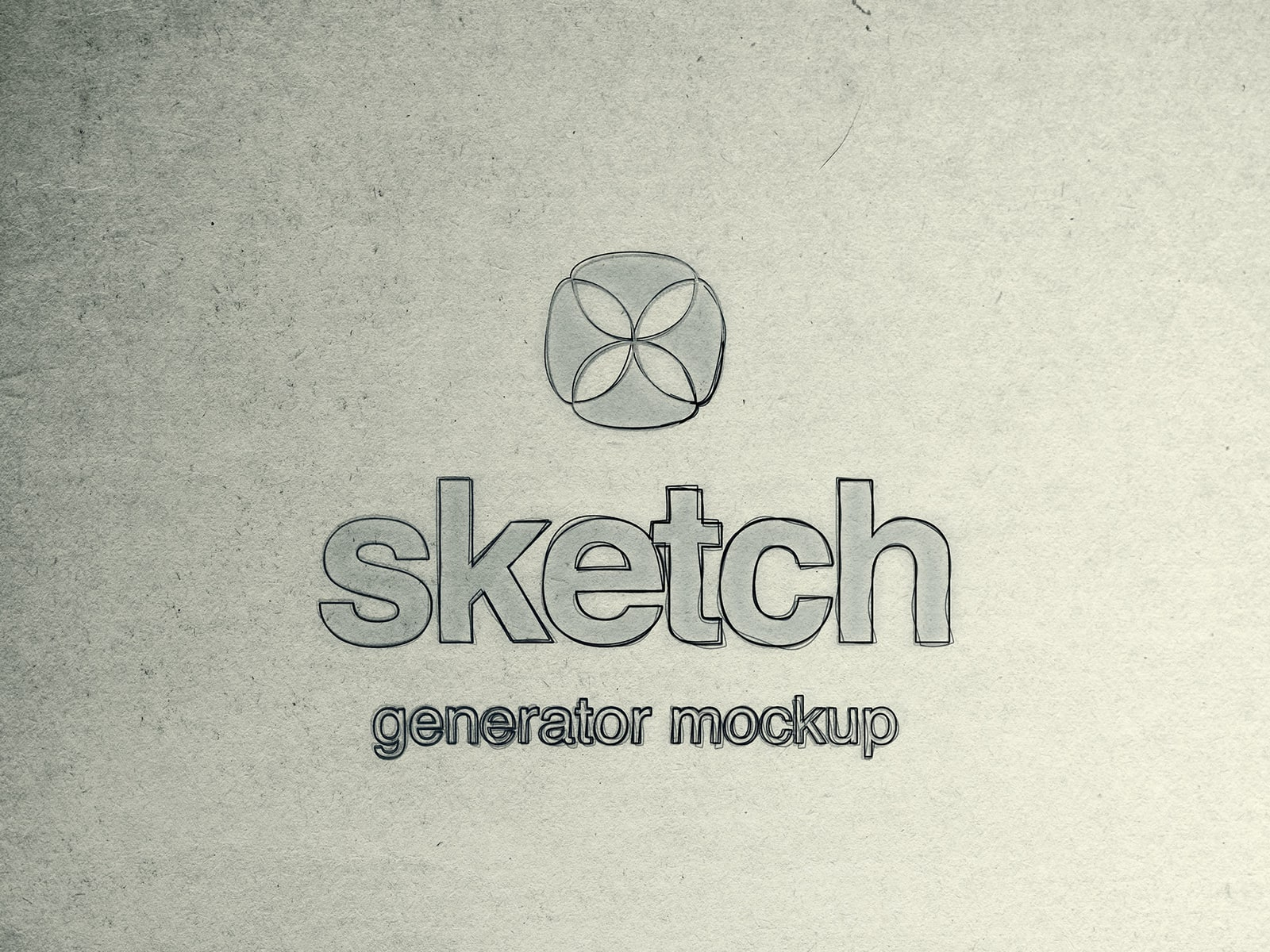 Sketch Generator Free Mockup