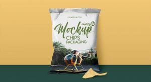 Chips Packaging Free Mockup