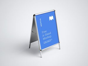 Free A-Stand Mockups