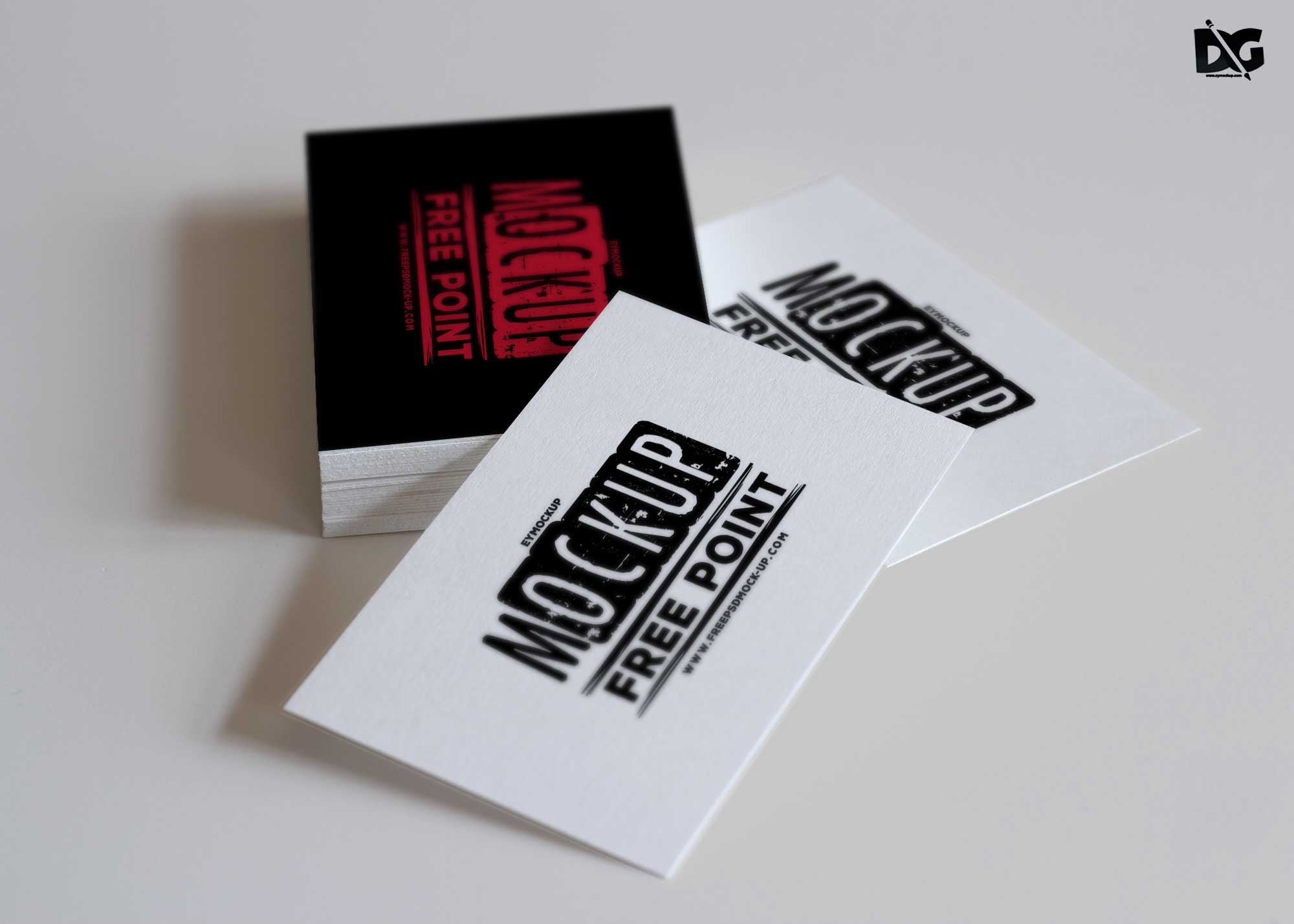 Business Card Artwork Free Mockups