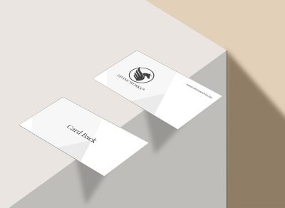Business Card On Table Free Mockup