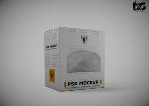 DieCut Box Free Mockup
