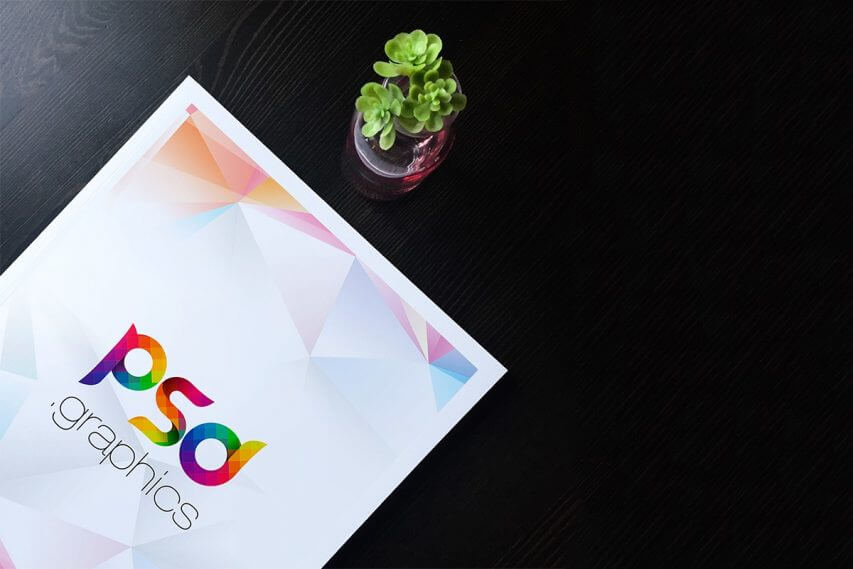 Free A4 Flyer Mockup Template