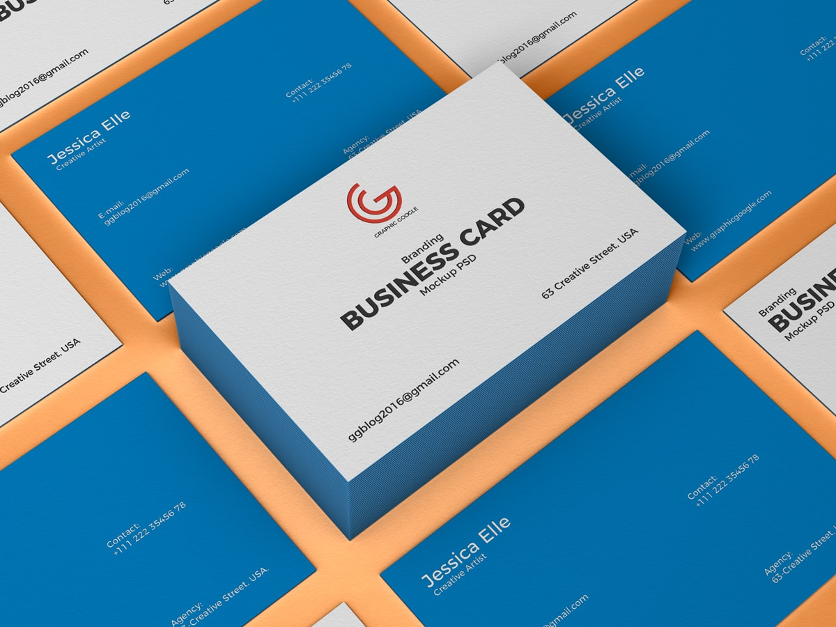 Free Branding Business Card Mockups