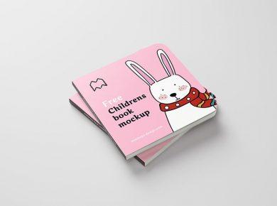 Free Children's Book Mockup
