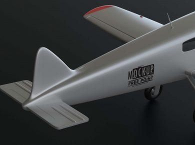 Free Custom Artwork Plane Mockup