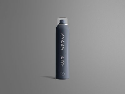 Free Hair Spray Mockup
