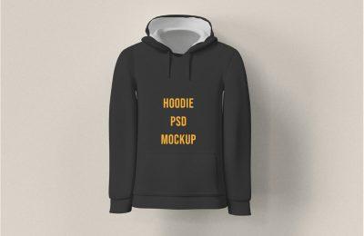 Free Man's Hoodie Mockup