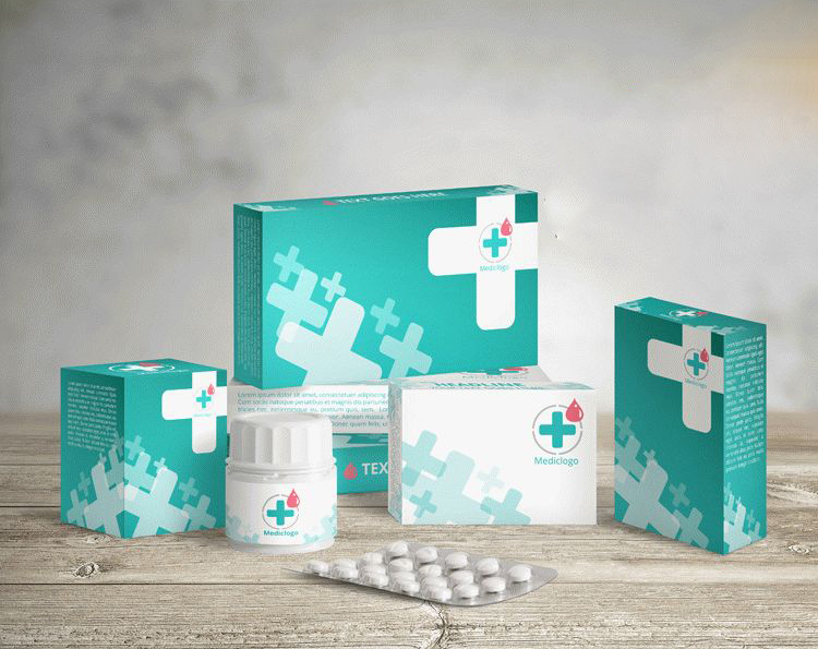 Free Medical Packaging Mockups