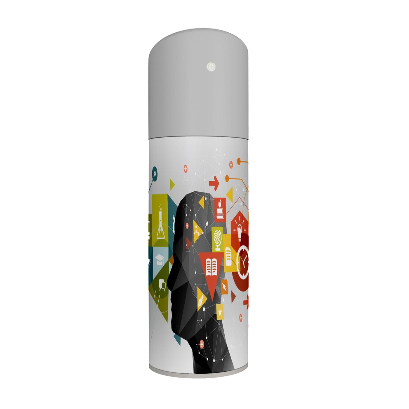 Free Perfume Bottle Mockup