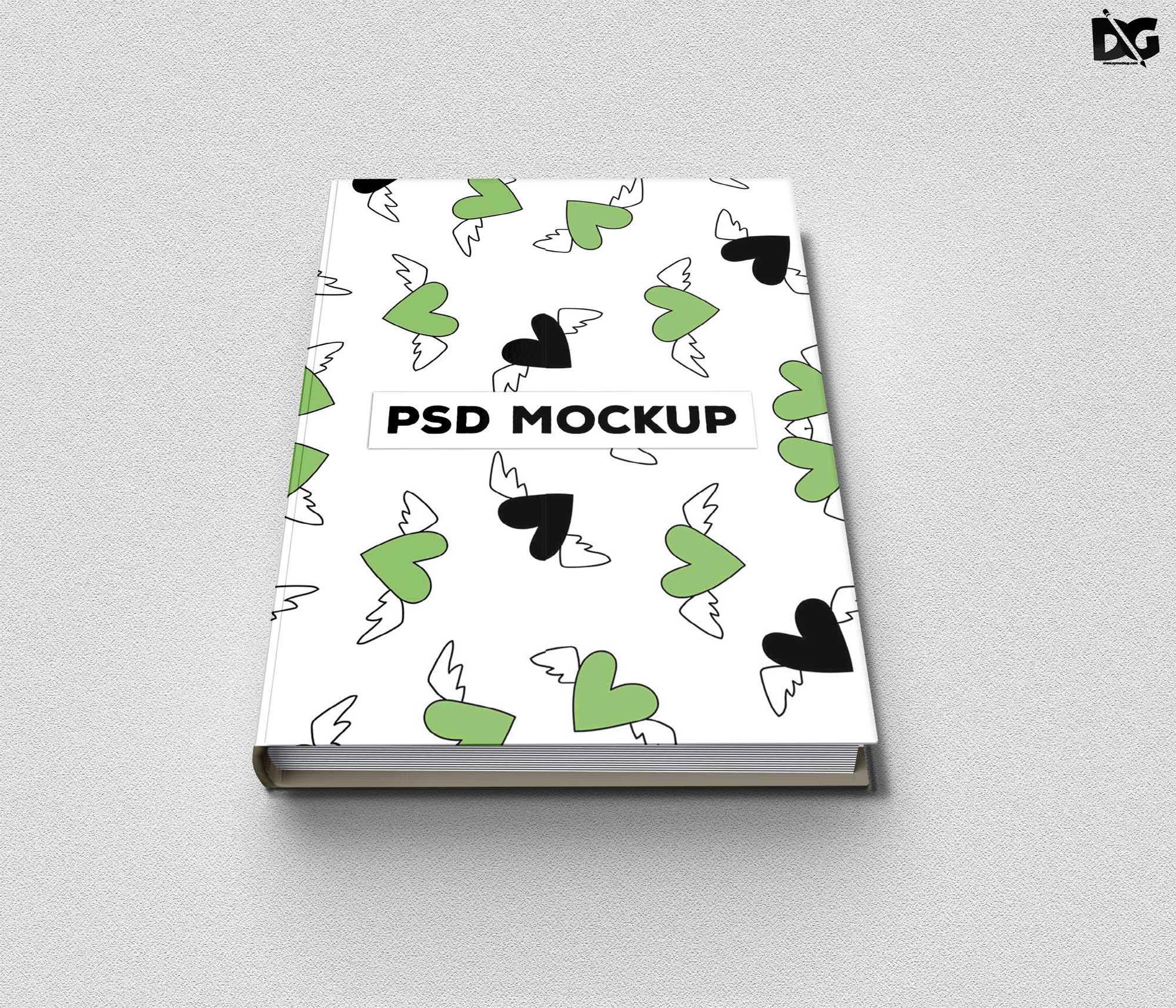 Free Realistic Book Mockups
