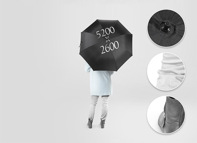 Free Umbrella Mock-ups