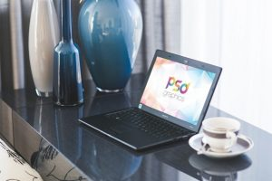 Free Windows Laptop Mockup